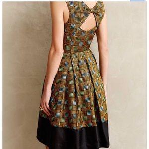 Anthropologie Girls from Savory Kakum flated dress